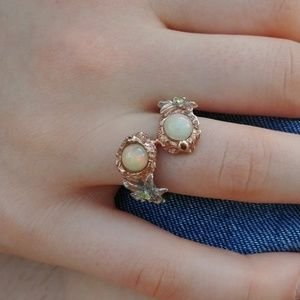 Jewelry - Double Fire Opal Ring